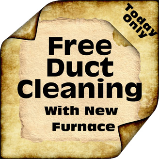 Mission Viejo heating and air conditioning. Free duct cleaning with a new furnace installation