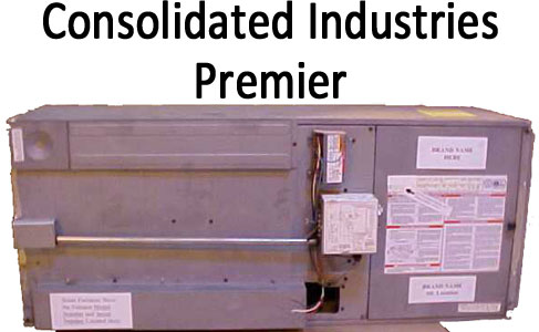 Recalled dangerous furnace by Consolidated Industries known as Premier