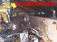 Defective attic heaters, attic furnaces can burn a home down