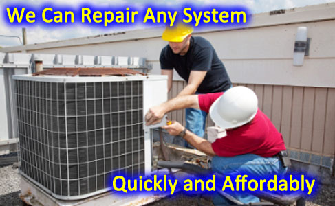 Roof top Central air conditioning service and repair