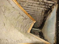 Dirty filters and dirty evaporators coils can be solved by yearly A/C maintenance