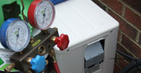 Freon leak repair can save you money instead of replacing that air conditioner with a new air conditioner