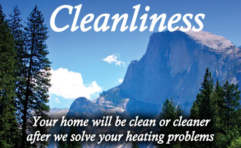 Your repaired heating and cooing system and you wil enjoy a clean home