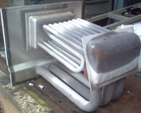 Firebox overheating can result from inadequate airflow